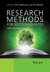 Research Methods for Postgraduates 3rd ed.